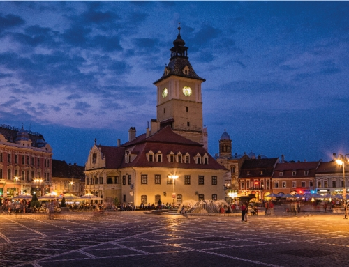 inteliLIGHT® PLC Streetlight Control Solution  and smart city integrations in Brasov, ROMANIA