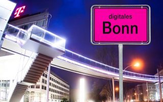 Flashnet's NB-IoT streetlight control, part of Telekom's Smart City project in Bonn, Germany