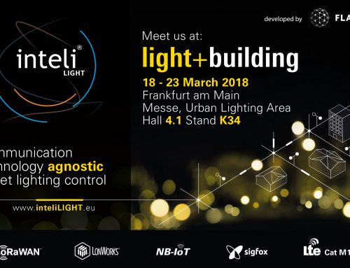 Communication technology agnostic street lighting control at light + building 2018