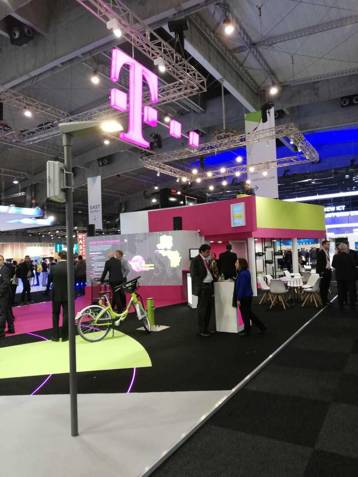 Deutsche Telekom and T-Systems International GmbH showcasing inteliLIGHT NB-IoT compatible smart street lighting solution