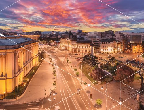 Romanian cities boost their investment in smart lighting and smart city projects.