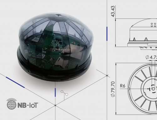 New NB-IoT compatibility for the smallest inteliLIGHT ZHAGA streetlight controller so far