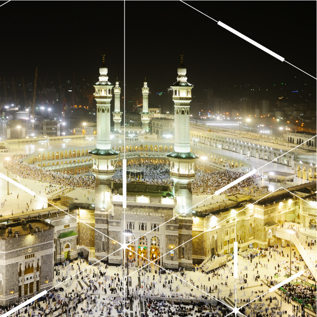Smart public lighting project in Mecca