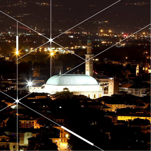 Smart public lighting project in Vicenza region, Italy