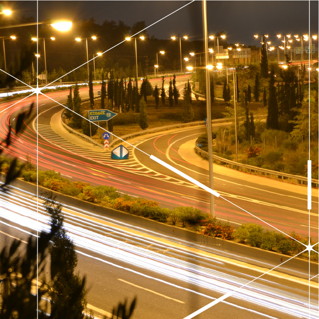 Smart public lighting project for A1 Highway in Greece