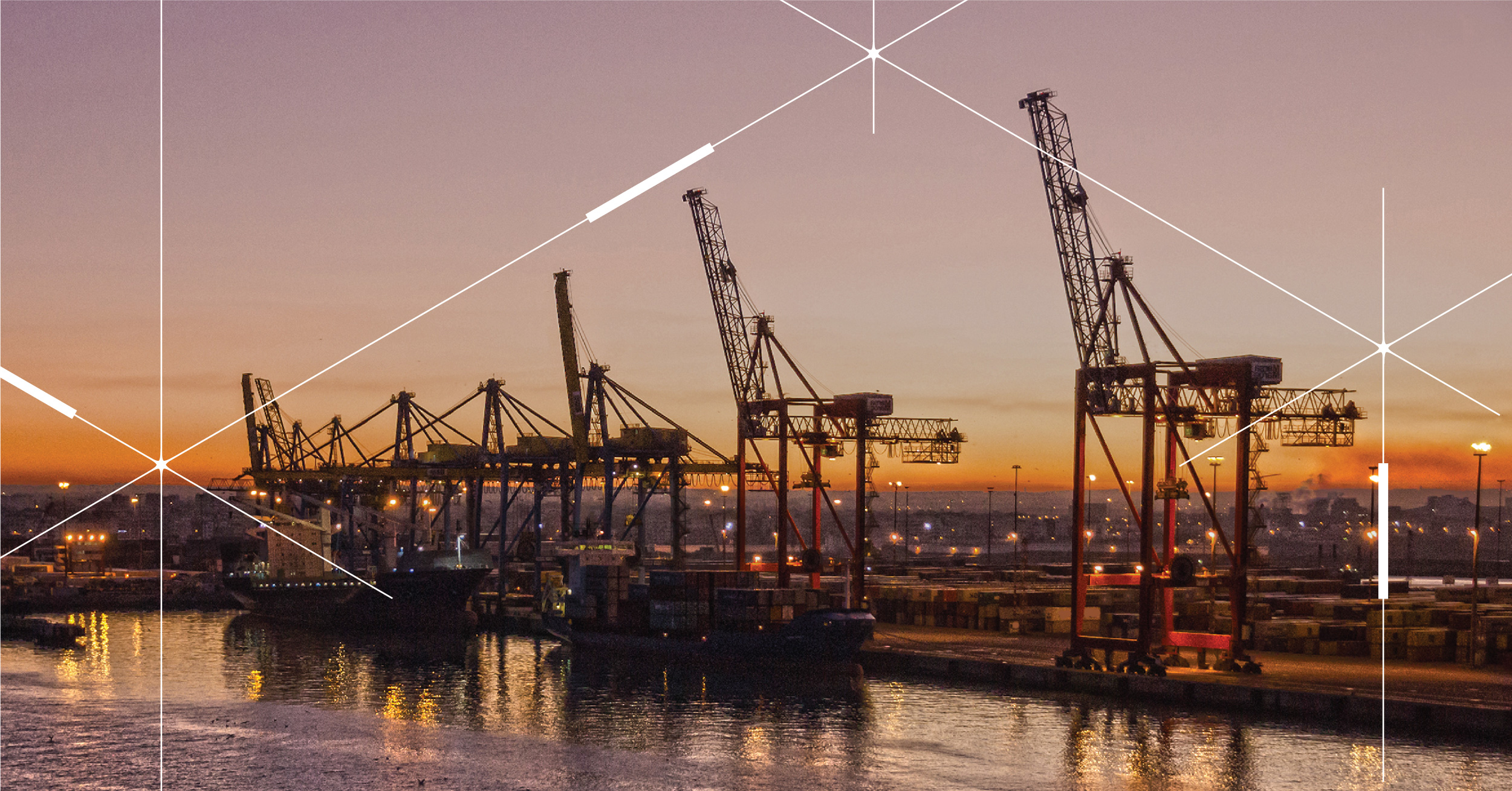 The Port of Casablanca, Morocco, taps into the benefits of the inteliLIGHT's smart lighting solution – energy savings and improved safety