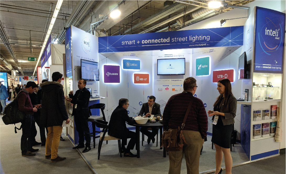 Last week in Frankfurt, inteliLIGHT® drove street lighting control innovation in the context of a maturing market