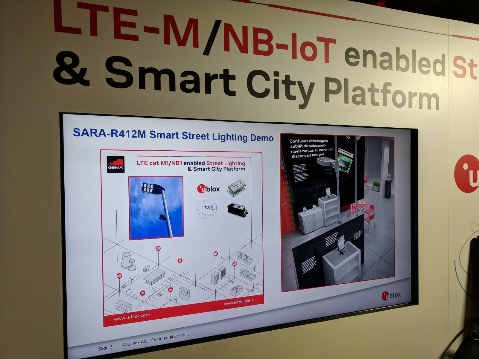 Why has inteliLIGHT® been the IoT streetlight control solution of choice during Mobile World Congress 2018?